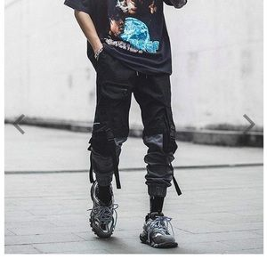 Other - Black and Gray Cargo Pants